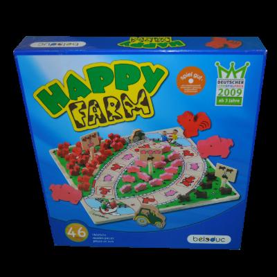 Boite du jeu Happy farm