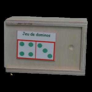 Boite du jeu de dominos