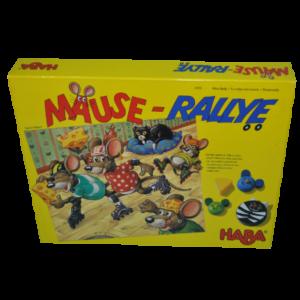 Boite du jeu Mause rallye rallye des souris