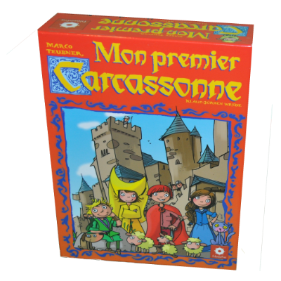 Boite du jeu Mon premier carcassonne