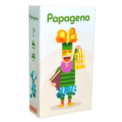 Boite du jeu Papageno