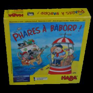 Boite du jeu Phares à babord