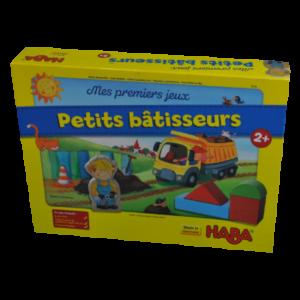 Boite du jeu Mes premiers jeux petits bâtisseurs