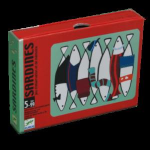Boite du jeu Sardines