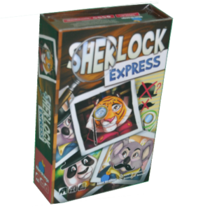 Boite du jeu Sherlock express