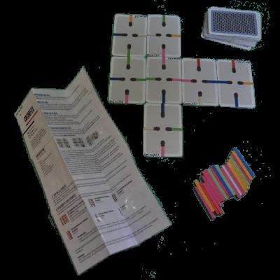 Matériel du jeu Colorfox