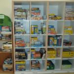 Photo de l'étagère des jeux 6-9 ans