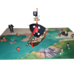 Matériel du jeu Pirate